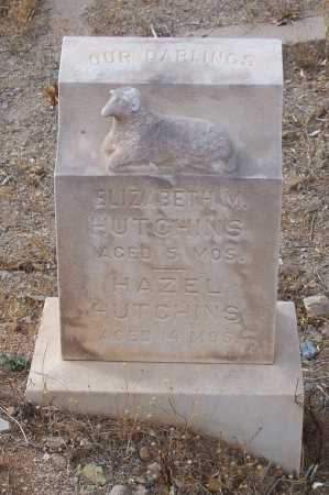 HUTCHINS, ELIZABETH M. - Gila County, Arizona | ELIZABETH M. HUTCHINS - Arizona Gravestone Photos