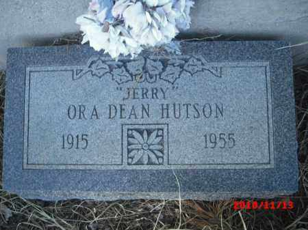 HUTSON, ORA DEAN - Gila County, Arizona | ORA DEAN HUTSON - Arizona Gravestone Photos