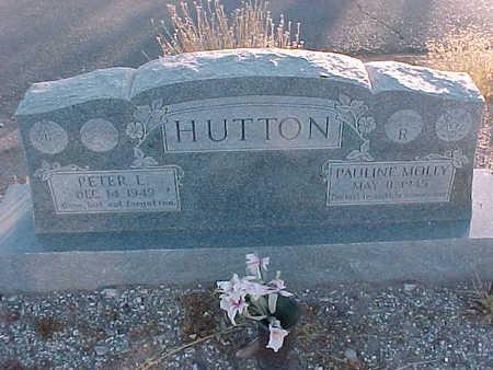 HUTTON, PETER  L. - Gila County, Arizona | PETER  L. HUTTON - Arizona Gravestone Photos