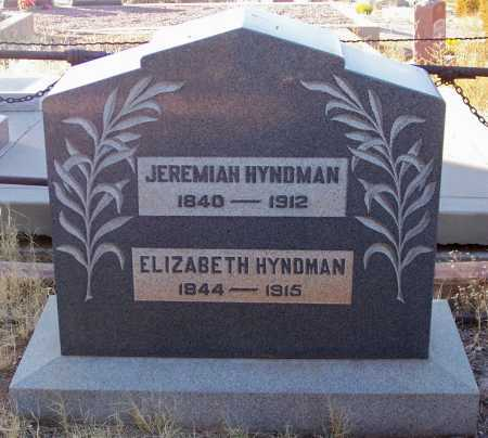 HYNDMAN, ELIZABETH - Gila County, Arizona | ELIZABETH HYNDMAN - Arizona Gravestone Photos