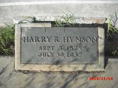 HYNSON, HARRY R. - Gila County, Arizona | HARRY R. HYNSON - Arizona Gravestone Photos