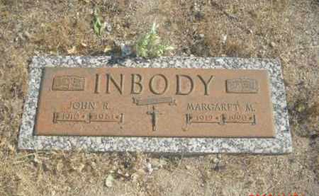 INBODY, MARGARET M. - Gila County, Arizona | MARGARET M. INBODY - Arizona Gravestone Photos