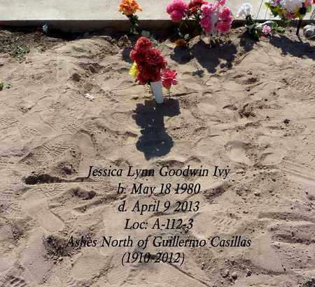 GOODWIN IVY, JESSICA LYNN - Gila County, Arizona | JESSICA LYNN GOODWIN IVY - Arizona Gravestone Photos
