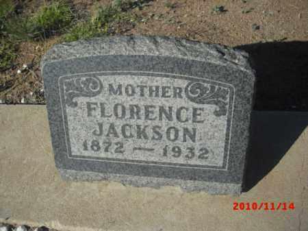 JACKSON, FLORENCE - Gila County, Arizona | FLORENCE JACKSON - Arizona Gravestone Photos