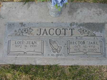 JACOTT, HECTOR JAKE - Gila County, Arizona | HECTOR JAKE JACOTT - Arizona Gravestone Photos