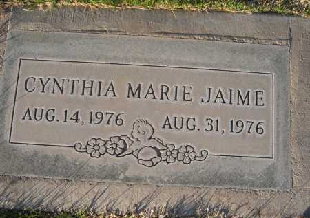 JAIME, CYNTHIA - Gila County, Arizona | CYNTHIA JAIME - Arizona Gravestone Photos