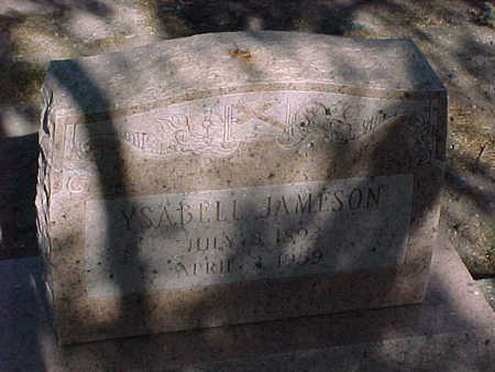 JAMESON, YSABELL - Gila County, Arizona | YSABELL JAMESON - Arizona Gravestone Photos