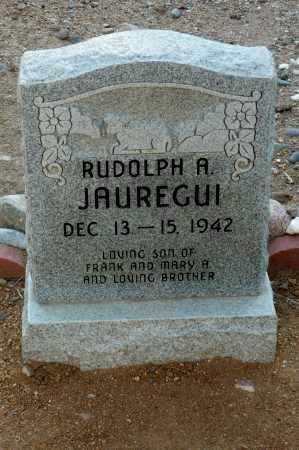 JAUREGUI, RUDOLPH - Gila County, Arizona | RUDOLPH JAUREGUI - Arizona Gravestone Photos