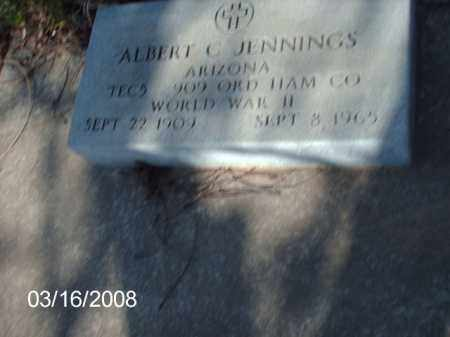 JENNINGS, ALBERT - Gila County, Arizona | ALBERT JENNINGS - Arizona Gravestone Photos