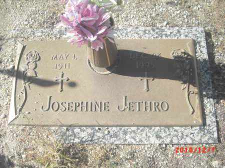 JETHRO, JOSEPHINE - Gila County, Arizona | JOSEPHINE JETHRO - Arizona Gravestone Photos