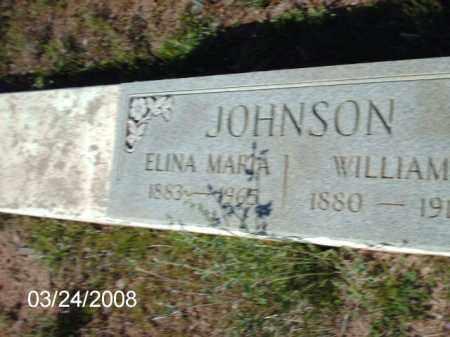 JOHNSON, ELINA - Gila County, Arizona | ELINA JOHNSON - Arizona Gravestone Photos