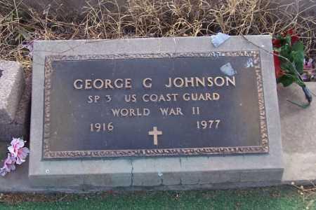 JOHNSON, GEORGE G. - Gila County, Arizona | GEORGE G. JOHNSON - Arizona Gravestone Photos