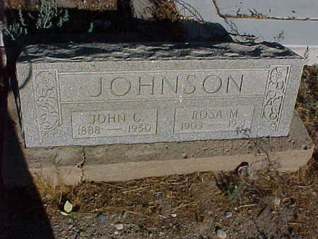 JOHNSON, JOHN  C. - Gila County, Arizona | JOHN  C. JOHNSON - Arizona Gravestone Photos