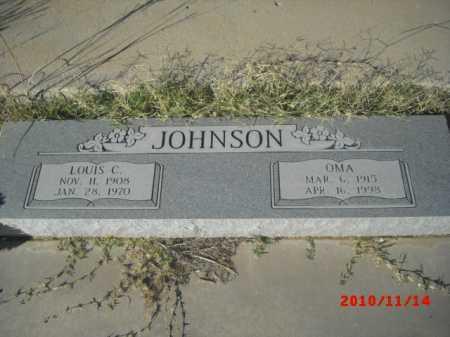 JOHNSON, LOUIS C. - Gila County, Arizona   LOUIS C. JOHNSON - Arizona Gravestone Photos