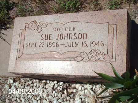 JOHNSON, SUE - Gila County, Arizona | SUE JOHNSON - Arizona Gravestone Photos