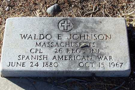 JOHNSON, WALDO E. - Gila County, Arizona | WALDO E. JOHNSON - Arizona Gravestone Photos