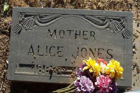 JONES, ALICE - Gila County, Arizona   ALICE JONES - Arizona Gravestone Photos