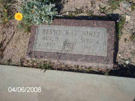JONES, BESSIE  MAE - Gila County, Arizona | BESSIE  MAE JONES - Arizona Gravestone Photos