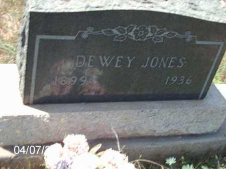 JONES, DEWEY - Gila County, Arizona | DEWEY JONES - Arizona Gravestone Photos