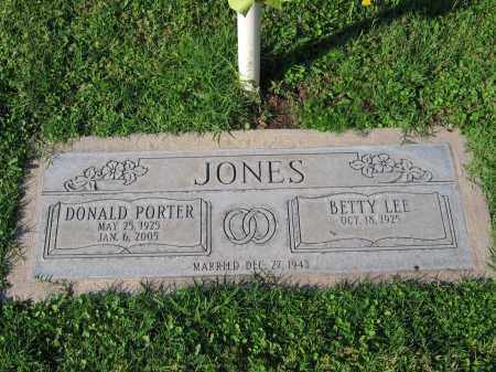 JONES, DONALD PORTER - Gila County, Arizona | DONALD PORTER JONES - Arizona Gravestone Photos