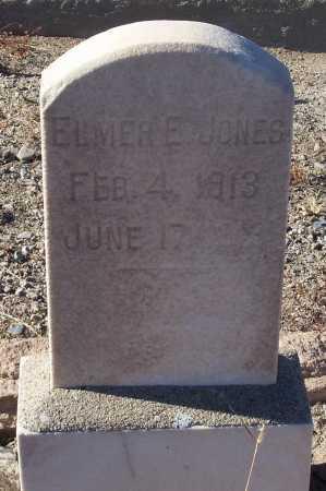 JONES, ELMER E. - Gila County, Arizona | ELMER E. JONES - Arizona Gravestone Photos