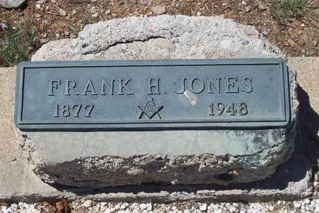 JONES, FRANK H. - Gila County, Arizona   FRANK H. JONES - Arizona Gravestone Photos