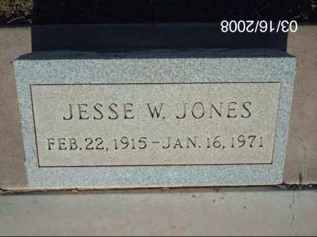 JONES, JESSE - Gila County, Arizona | JESSE JONES - Arizona Gravestone Photos