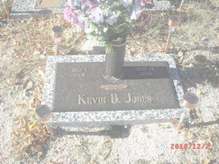 JONES, KEVIN B. - Gila County, Arizona | KEVIN B. JONES - Arizona Gravestone Photos