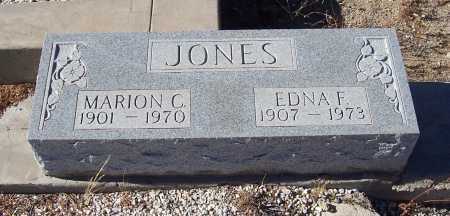 JONES, EDNA F. - Gila County, Arizona | EDNA F. JONES - Arizona Gravestone Photos