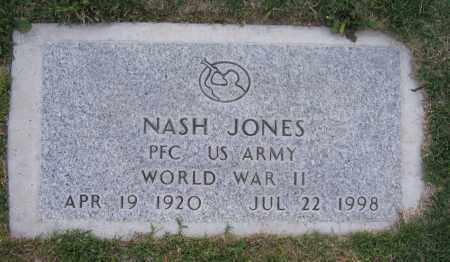 JONES, NASH - Gila County, Arizona | NASH JONES - Arizona Gravestone Photos