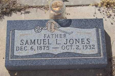 JONES, SAMUEL L. - Gila County, Arizona | SAMUEL L. JONES - Arizona Gravestone Photos
