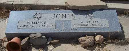 JONES, A. CECELIA - Gila County, Arizona | A. CECELIA JONES - Arizona Gravestone Photos