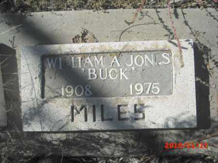 JONES, WILLIAM A. - Gila County, Arizona | WILLIAM A. JONES - Arizona Gravestone Photos