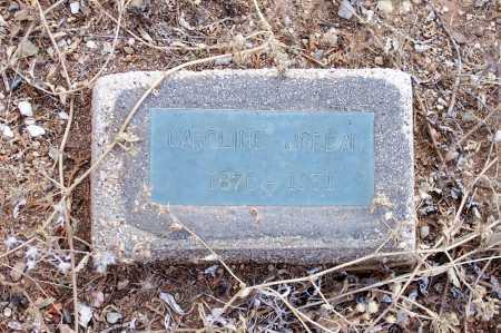 JORDAN, CAROLINE - Gila County, Arizona   CAROLINE JORDAN - Arizona Gravestone Photos