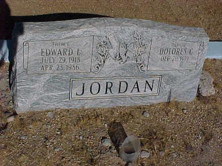 JORDAN, EDWARD  L. - Gila County, Arizona | EDWARD  L. JORDAN - Arizona Gravestone Photos