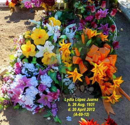 LOPEZ JUAREZ, LYDIA - Gila County, Arizona | LYDIA LOPEZ JUAREZ - Arizona Gravestone Photos