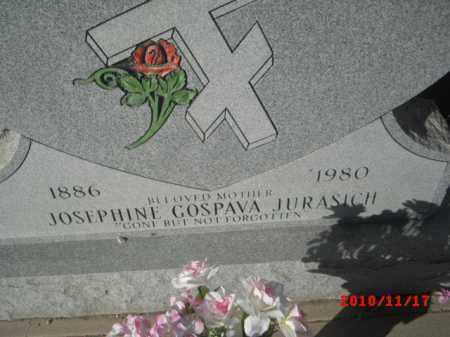 JURASICH, JOSEPHINE GOSPAVA - Gila County, Arizona   JOSEPHINE GOSPAVA JURASICH - Arizona Gravestone Photos