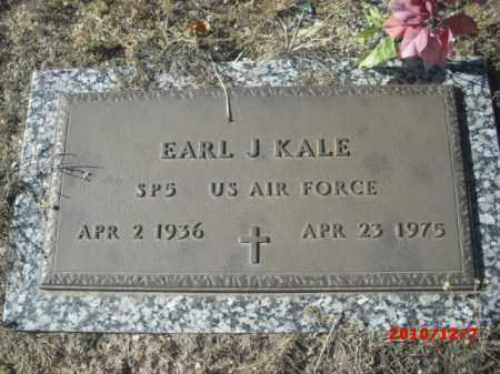 KALE, EARL J. - Gila County, Arizona | EARL J. KALE - Arizona Gravestone Photos