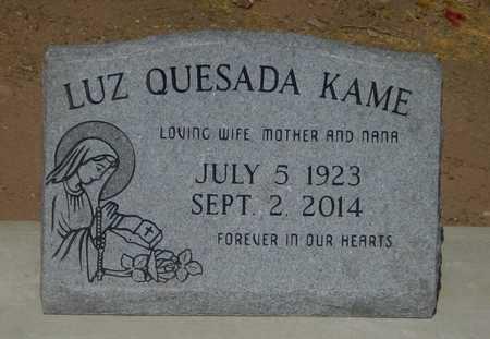 QUESADA KAME, LUZ - Gila County, Arizona | LUZ QUESADA KAME - Arizona Gravestone Photos