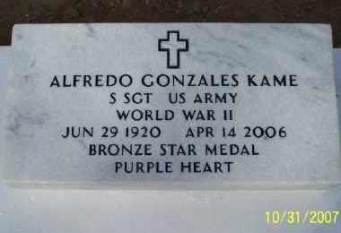 KAME, ALFREDO GONZALES - Gila County, Arizona | ALFREDO GONZALES KAME - Arizona Gravestone Photos