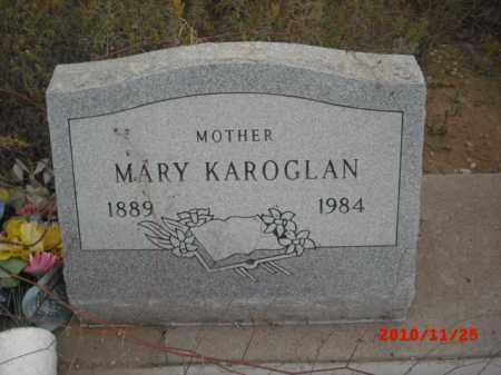 KAROGLAN, MARY - Gila County, Arizona | MARY KAROGLAN - Arizona Gravestone Photos