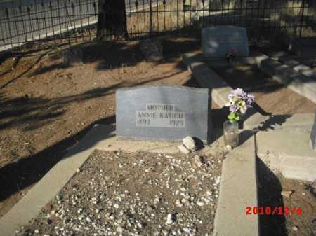 KATICH, ANNIE - Gila County, Arizona | ANNIE KATICH - Arizona Gravestone Photos
