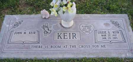 KEIR, LILLIE - Gila County, Arizona | LILLIE KEIR - Arizona Gravestone Photos