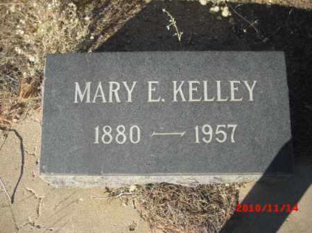 KELLEY, MARY E. - Gila County, Arizona   MARY E. KELLEY - Arizona Gravestone Photos