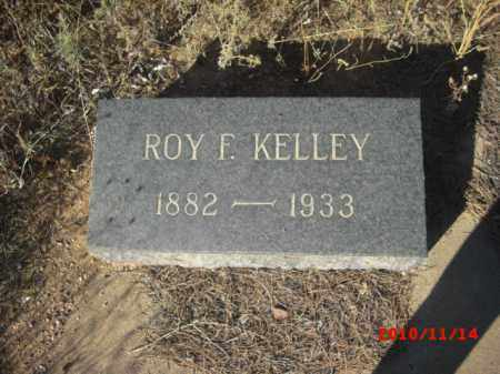 KELLY, ROY F. - Gila County, Arizona   ROY F. KELLY - Arizona Gravestone Photos