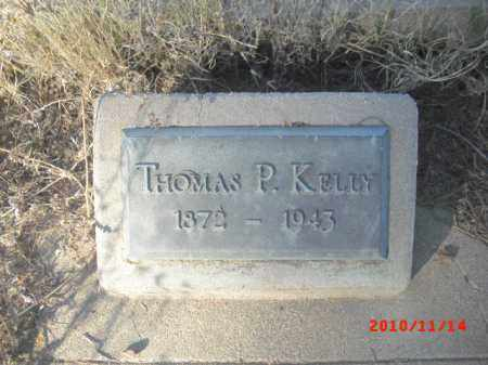 KELLY, THOMAS P. - Gila County, Arizona | THOMAS P. KELLY - Arizona Gravestone Photos