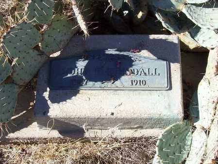KENDALL, JOHN D. - Gila County, Arizona | JOHN D. KENDALL - Arizona Gravestone Photos