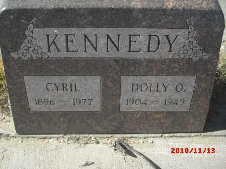 KENNEDY, CYRIL - Gila County, Arizona | CYRIL KENNEDY - Arizona Gravestone Photos