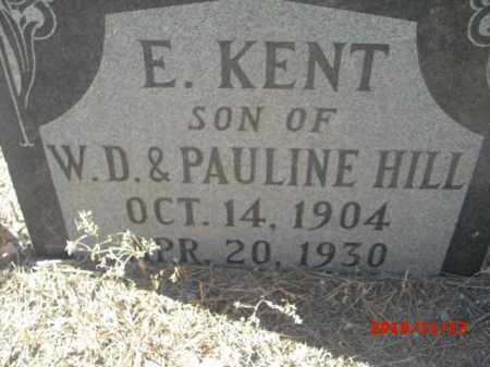 KENT, E. - Gila County, Arizona   E. KENT - Arizona Gravestone Photos