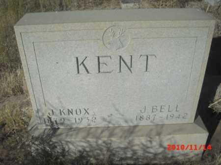 KENT, J. KNOX - Gila County, Arizona | J. KNOX KENT - Arizona Gravestone Photos